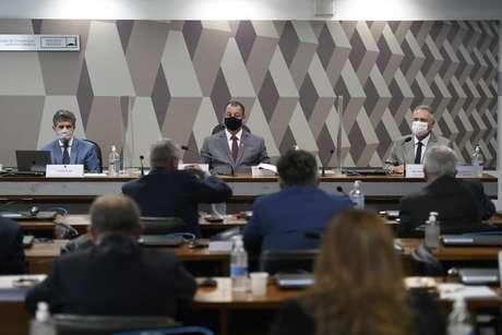 Comissão Parlamentar de Inquérito da Pandemia realiza oitiva do ex-ministro de Estado da Saúde.