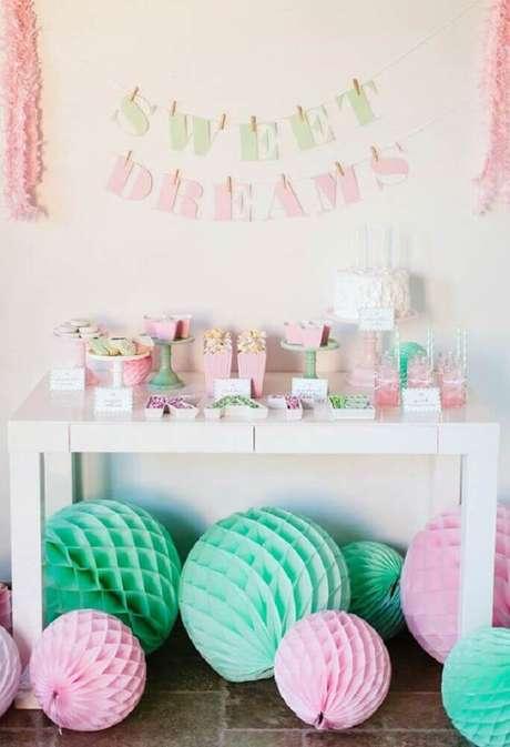 8. Ideias de decoração para festa do pijama