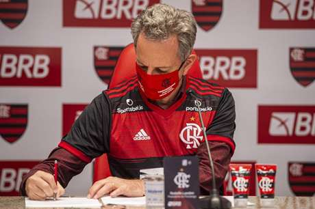 Landim é presidente do Flamengo desde janeiro de 2019 (Foto: Marcelo Cortes / Flamengo)