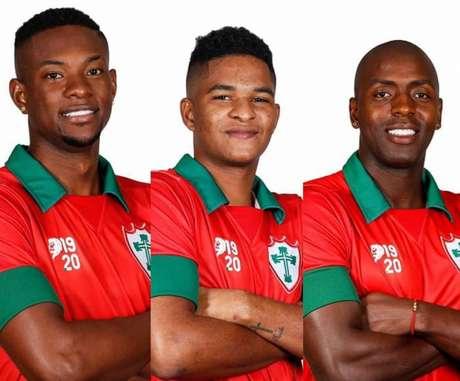 Contratações preenchem os três setores do campo (Divulgação/Portuguesa)