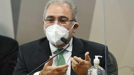 Marcelo Queiroga, ministro da Saúde, é quem depõe à CPI da Covid nesta quinta