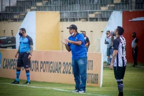 O ABC embalou duas vitórias consecutivas (Foto: Rennê Carvalho/ABC F.C.)