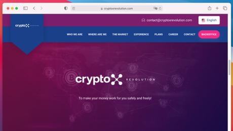 CryptoX Revolution