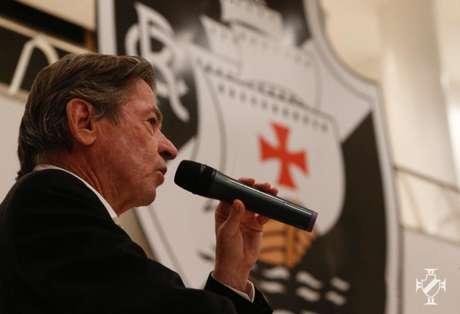 Jorge Salgado, presidente do Vasco, completou 100 dias de gestão na última quarta (Rafael Ribeiro/Vasco)