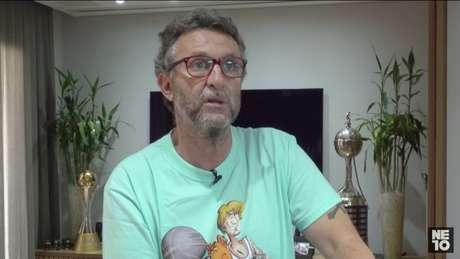 Neto deseja ser presidente do Corinthians, clube onde é ídolo (Reprodução / YouTube)