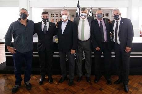 Vice-presidentes do Botafogo (Foto: Divulgação)