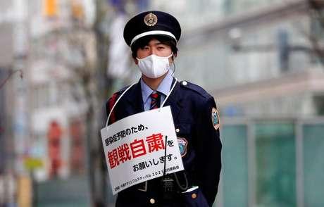 Evento teste para Olimpíada em Sapporo  5/5/2021 REUTERS/Issei Kato