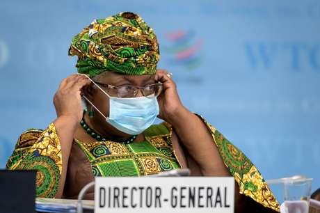 Diretora-geral da Organização Mundial do Comércio, Ngozi Okonjo-Iweala 01/03/2021 REUTERS/Fabrice Coffrini.