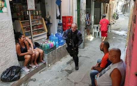 Operação policial na favela do Jacarezinho, no Rio de Janeiro 06/05/2021 REUTERS/Ricardo Moraes