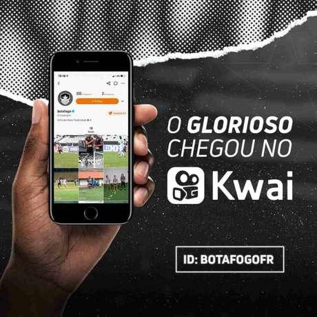 O código de convite do Botafogo é Kwai755914446 (Foto: Divulgação/Botafogo)