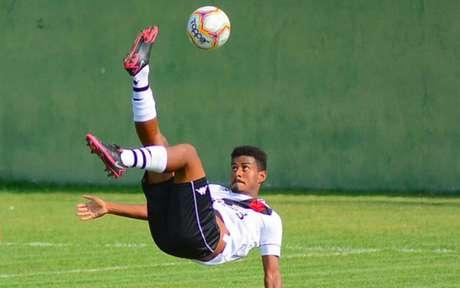 Marcos Junior é um dos atacantes da equipe comandada por Diogo Siston (Marcos Faria/Divulgação)