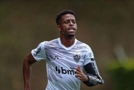 Keno ainda está se adaptando ao novo esquema de jogo montado por Cuca-((Pedro Souza/Atlético-MG)