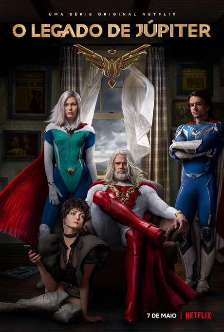 Cartaz de 'O Legado de Júpiter', série estreia dia 7 de maio na Netflix