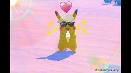 Pikachu curtindo um dia de Sol...