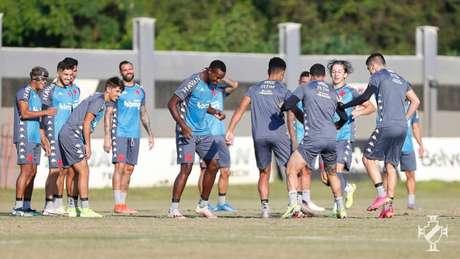 Elenco do Vasco sofreu mudanças da última temporada para a atual (Rafael Ribeiro / Vasco)