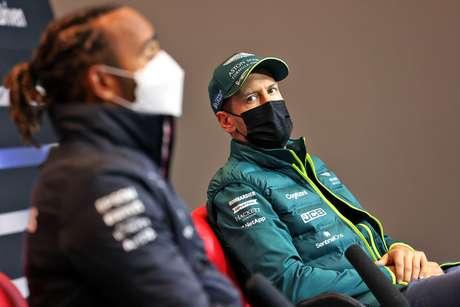 Vettel elogiou o crescimento pessoal de Hamilton