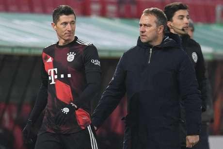 Lewandowski pode deixar o Bayern para atuar na Premier League (Foto: ANDREAS GEBERT / POOL / AFP)