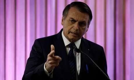 Presidente Jair Bolsonaro 20/05/2019 REUTERS/Ricardo Moraes