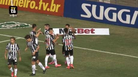 No jogo de ida, o Galo venceu o time de Tombos por 3 a 0 e está perto de mais uma decisão no Estadual de Minas Gerais-(Reprodução / Galo TV)