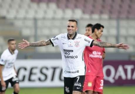Luan foi o melhor do Corinthians (Foto: Rodrigo Coca/Ag. Corinthians)