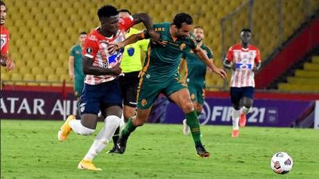 Fluminense empatou em 1 a 1 com o Junior Barranquilla fora de casa (Foto: MAILSON SANTANA/FLUMINENSE FC)