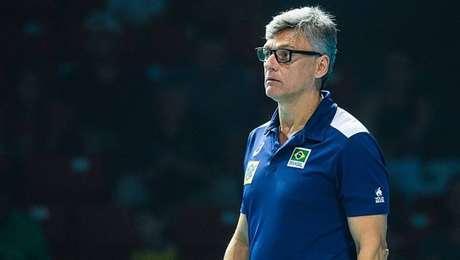Renan Dal Zotto, técnico da seleção brasileira masculina de vôlei