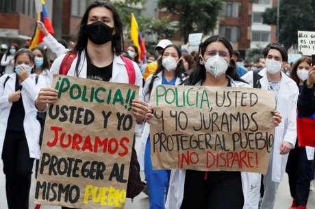 Na última segunda-feira, foram realizados protestos contra a violência policial