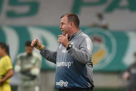 Marcelo Fernandes defendeu os jogadores do Santos após a derrota no clássico (FOTO: Ivan Storti/Santos FC)