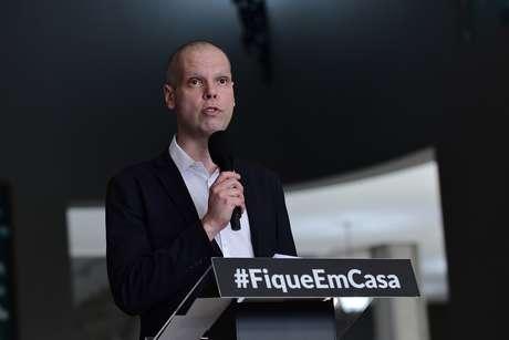 O prefeito Bruno Covas luta contra o câncer no aparelho digestivo desde 2019