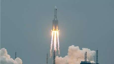 Trajetória do foguete será rastreada pelo Comando Espacial dos EUA