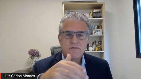 """Luiz Carlos Moraes: """"Parece que sempre estamos falando sozinhos""""."""