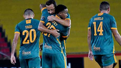 Fluminense empatou com o Junior Barranquilla na Libertadores (Foto: MAILSON SANTANA/FLUMINENSE FC)