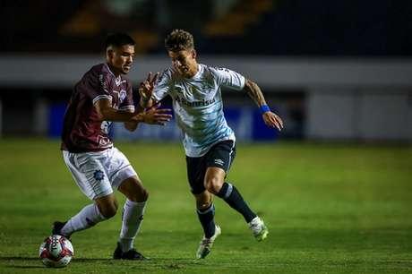 Tricolor bateu o Caxias na ida (Lucas Uebel/Grêmio FBPA)
