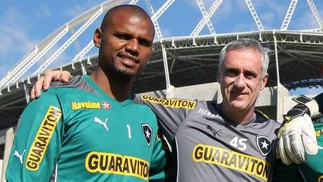 Flavio chegou a ser técnico interino do Botafogo em 2020, após a demissão de Bruno Lazaroni Satiro Sodre/SSPress