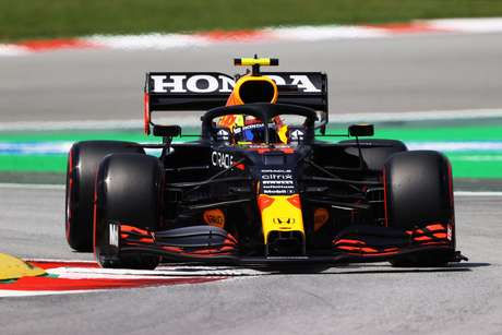 Sérgio Pérez vai largar na oitava posição, sua pior marca em classificações desde o GP do Bahrein, quando estreou pela Red Bull