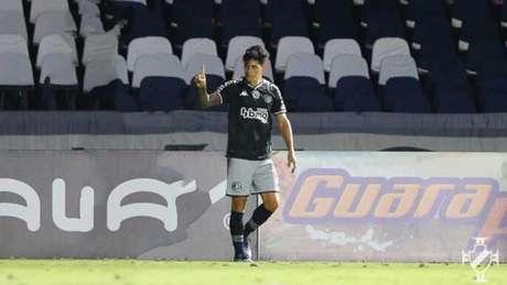 Germán Cano marcou o gol da vitória do Vasco sobre o Madureira em São Januário Foto: Rafael Ribeiro/Vasco)