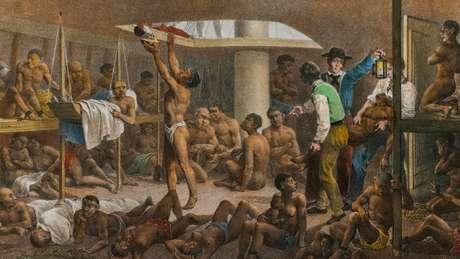 O tráfico de africanos foi proibido no Brasil em 1831, mas o contrabando continuou por várias décadas