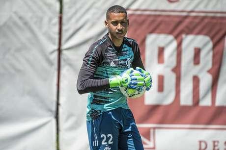 Gabriel Batista será titular contra o Voltaço (Foto: Alexandre Vidal/Flamengo)