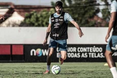 O zagueiro Luan Peres é um dos líderes do elenco santista (Foto:Ivan Storti/Santos FC)