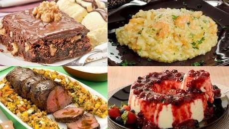Escolha os pratos preferidos da sua mãe!