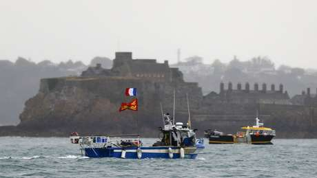 Pescadores franceses protestaram contra os novos regulamentos de pesca