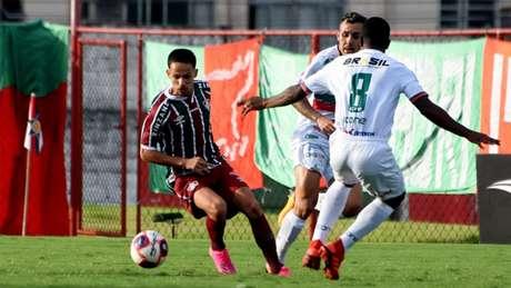 Fluminense e Portuguesa se enfrentaram no último domingo (Foto: MAILSON SANTANA/FLUMINENSE FC)