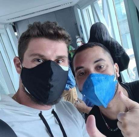 Bruninho e Gilberto, ex-BBB (Reprodução: Instagram)