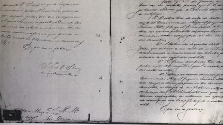 O historiador Bruno Rodrigues de Lima precisou decifrar as várias caligrafias do processo