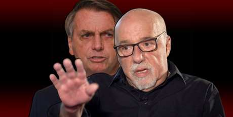 """Paulo Coelho xingou Bolsonaro de """"canalha"""" e foi chamado de """"idiota"""" pelo presidente"""