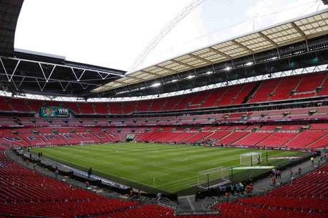 Wembley pode receber final entre Manchester City e Chelsea pela Champions League (Foto: AFP)