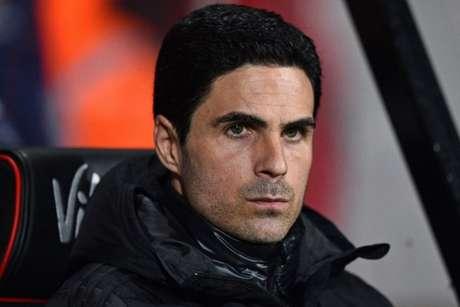 Arteta não está satisfeito com desempenho da equipe nesta temporada (AFP)