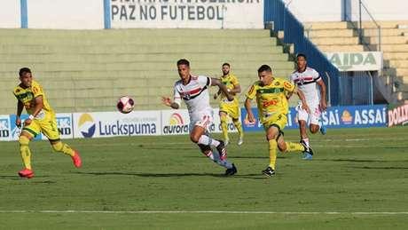 São Paulo e Mirassol ficaram no empate (Foto: Marcos Freitas/Ag Mirassol FC)