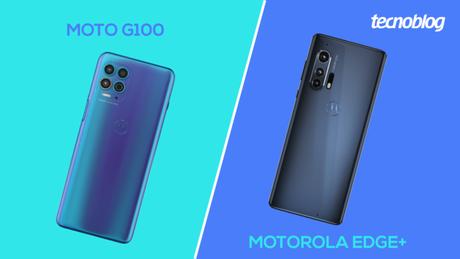 Moto G100 vs Motorola Edge+