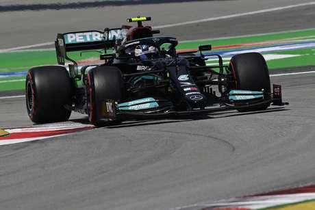 Valtteri Bottas voltou a ser terceiro colocado